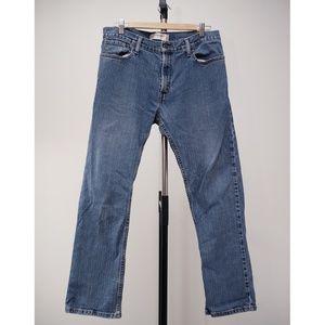 Levi Strauss 514 Slim Straight Denim Blue Jeans